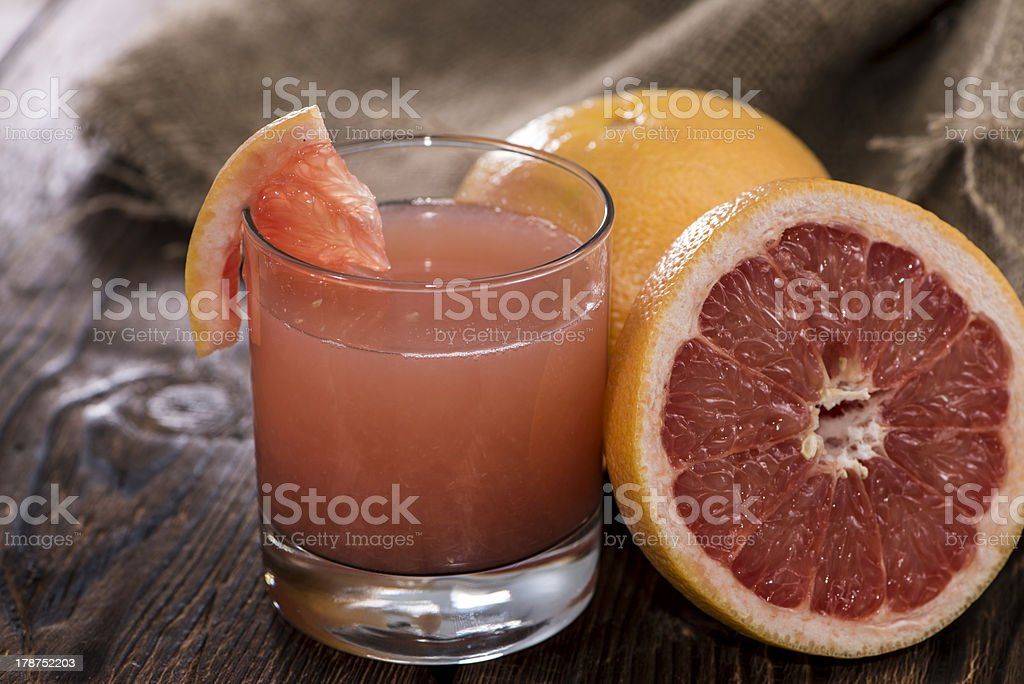 Fresh made Grapefruit Juice stock photo