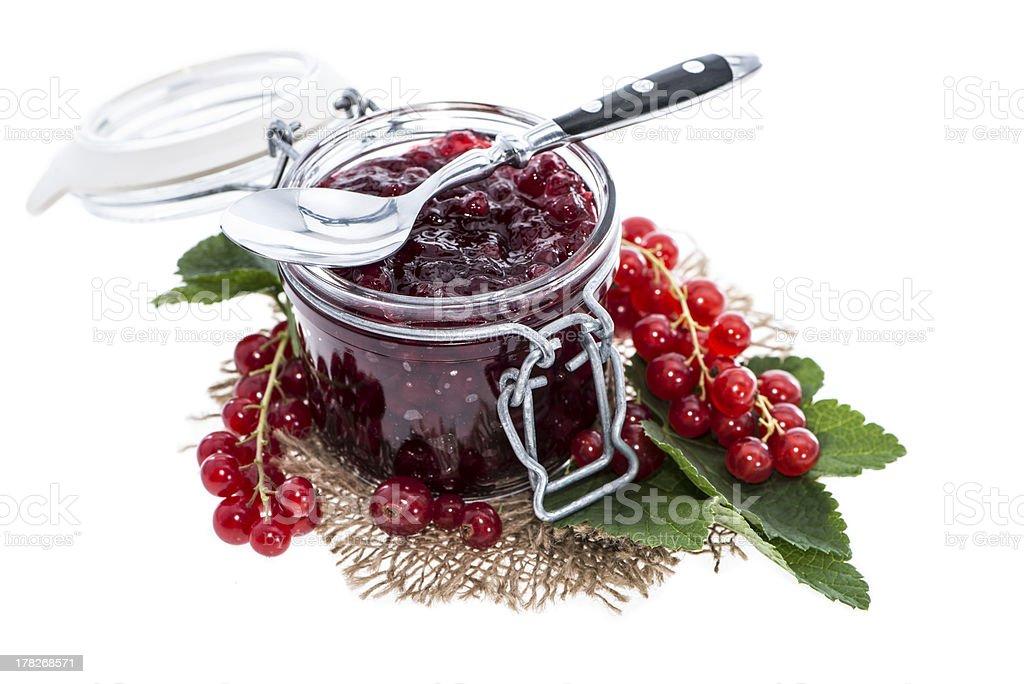 Fresh made Jam royalty-free stock photo