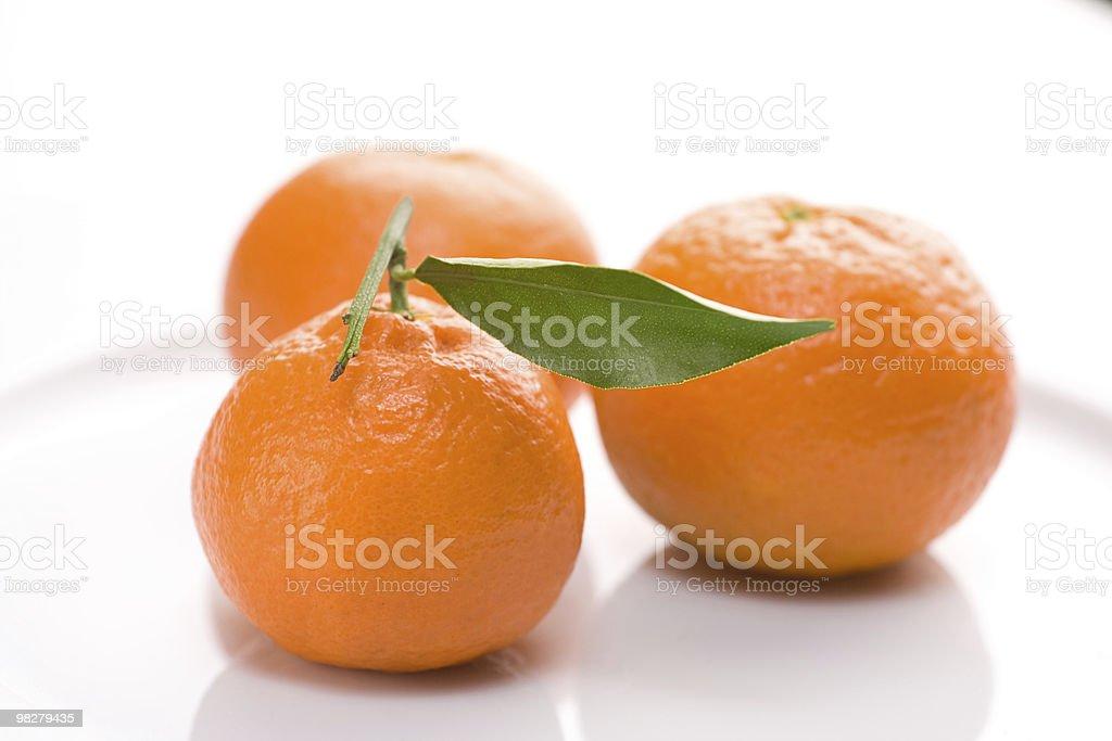 신선한 mandarins royalty-free 스톡 사진