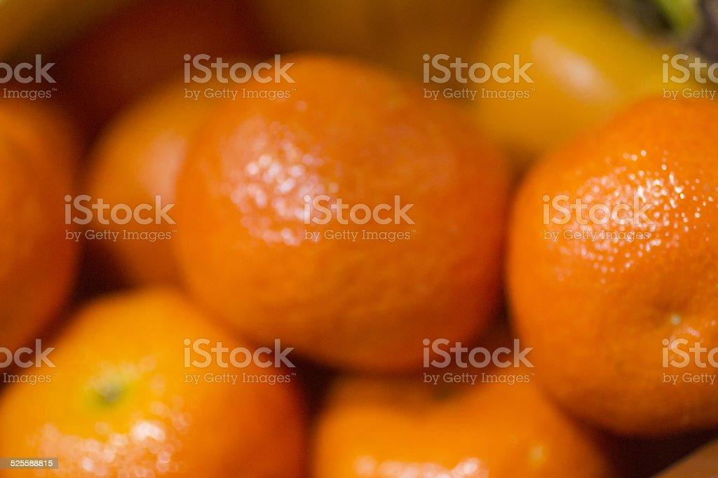 Fresh mandarins tangerine clementines oranges stock photo