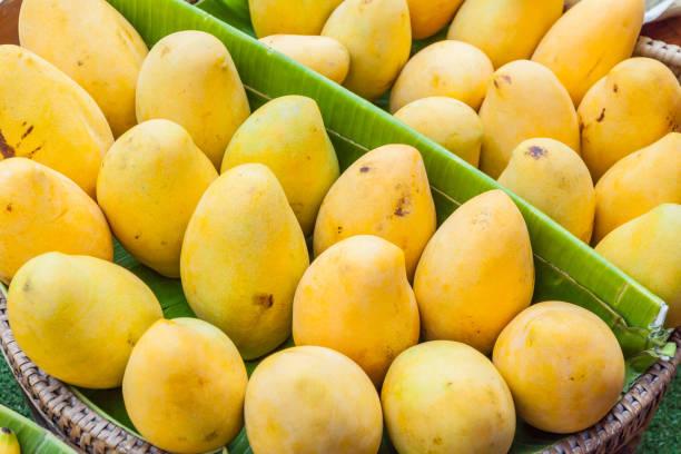Frische Mango im Markt, thailand – Foto