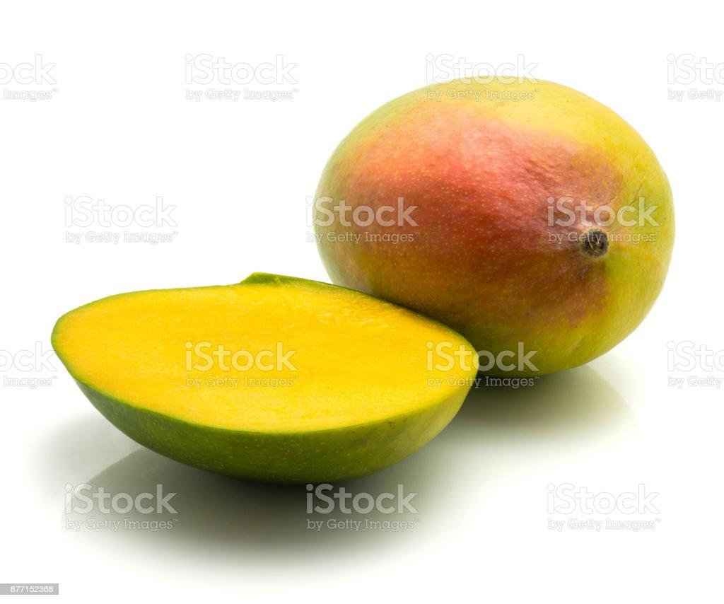 Fresh mango isolated stock photo