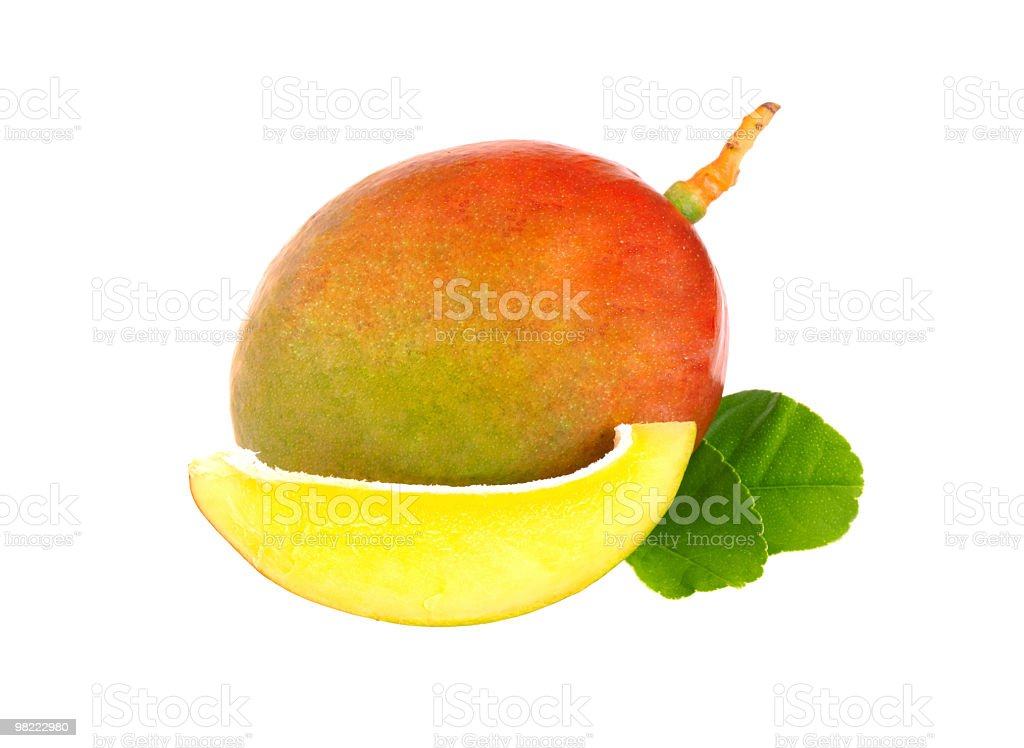Fresh mango royalty-free stock photo