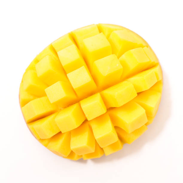 fresh mango slice fresh mango slice mango stock pictures, royalty-free photos & images