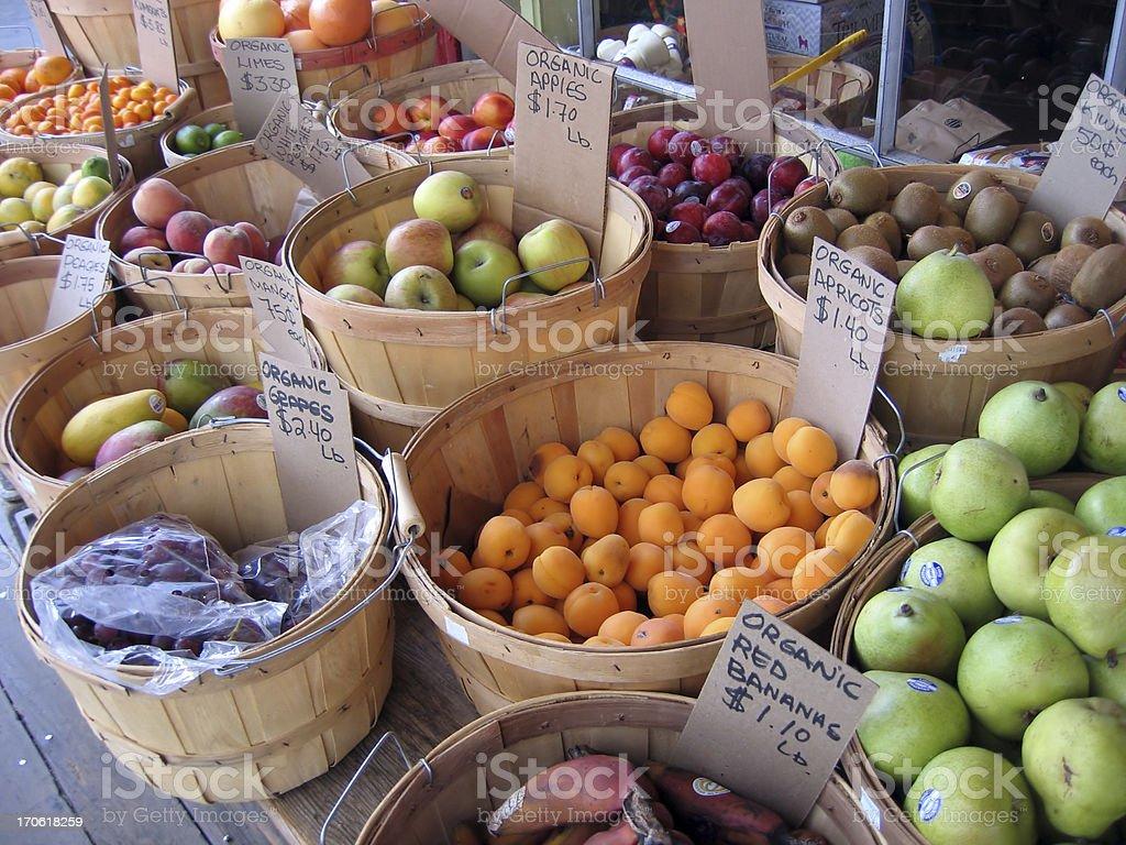 Fresh Market Fruit royalty-free stock photo