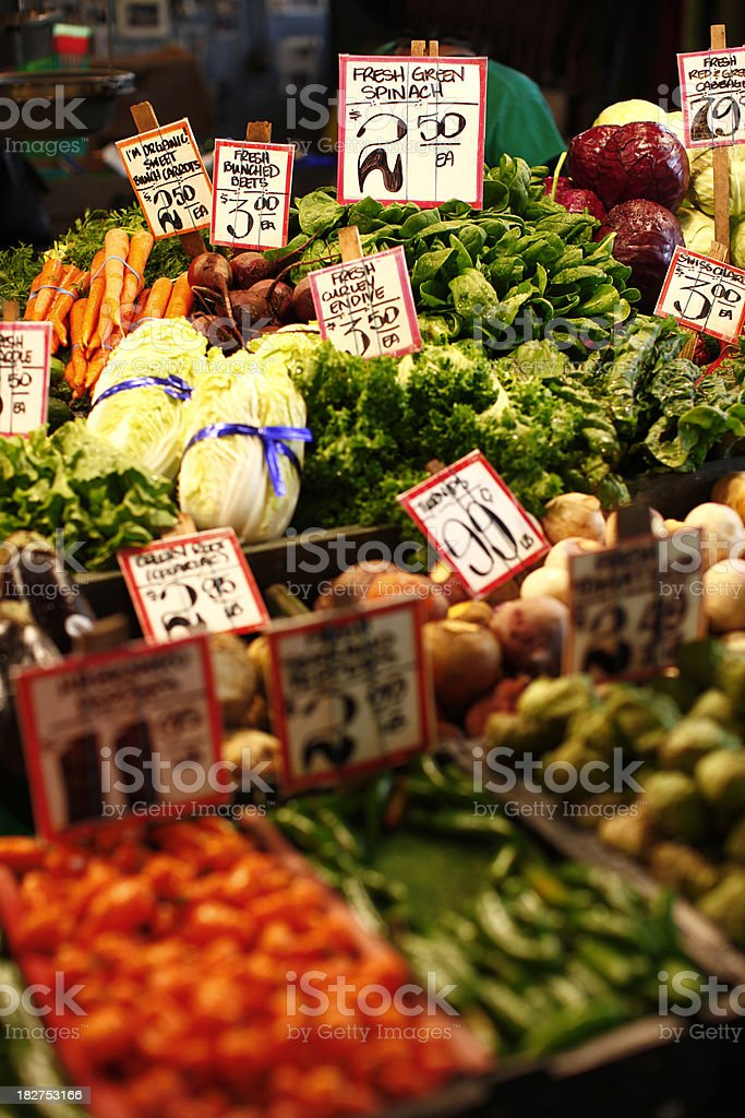 Fresh Market Selection royalty-free stock photo