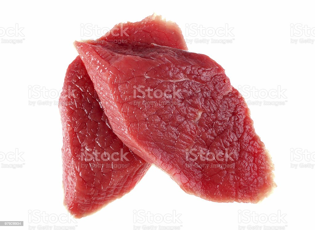 Fresh meat beef royalty-free stock photo