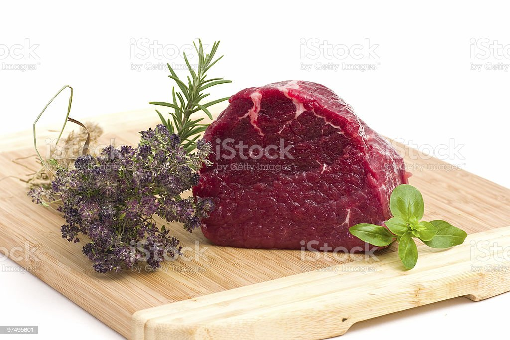 Fresh meat royalty-free stock photo
