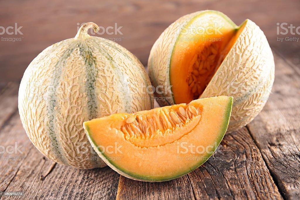 fresh melon royalty-free stock photo