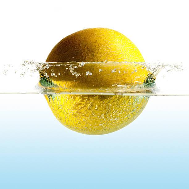 Frisches Wasser splash-Melone – Foto