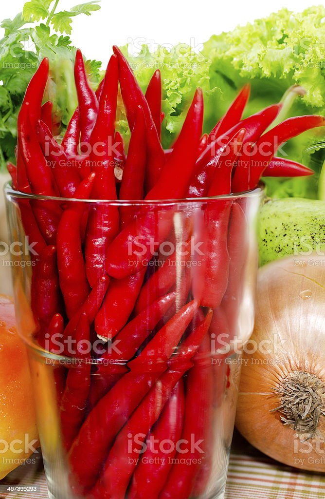 Fresh Mix vegetables royalty-free stock photo