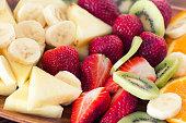 Fresh mixed fruit salad