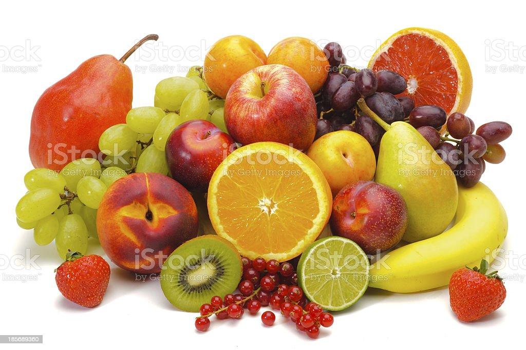 Mezcla de frutas frescas - Foto de stock de Fruta libre de derechos