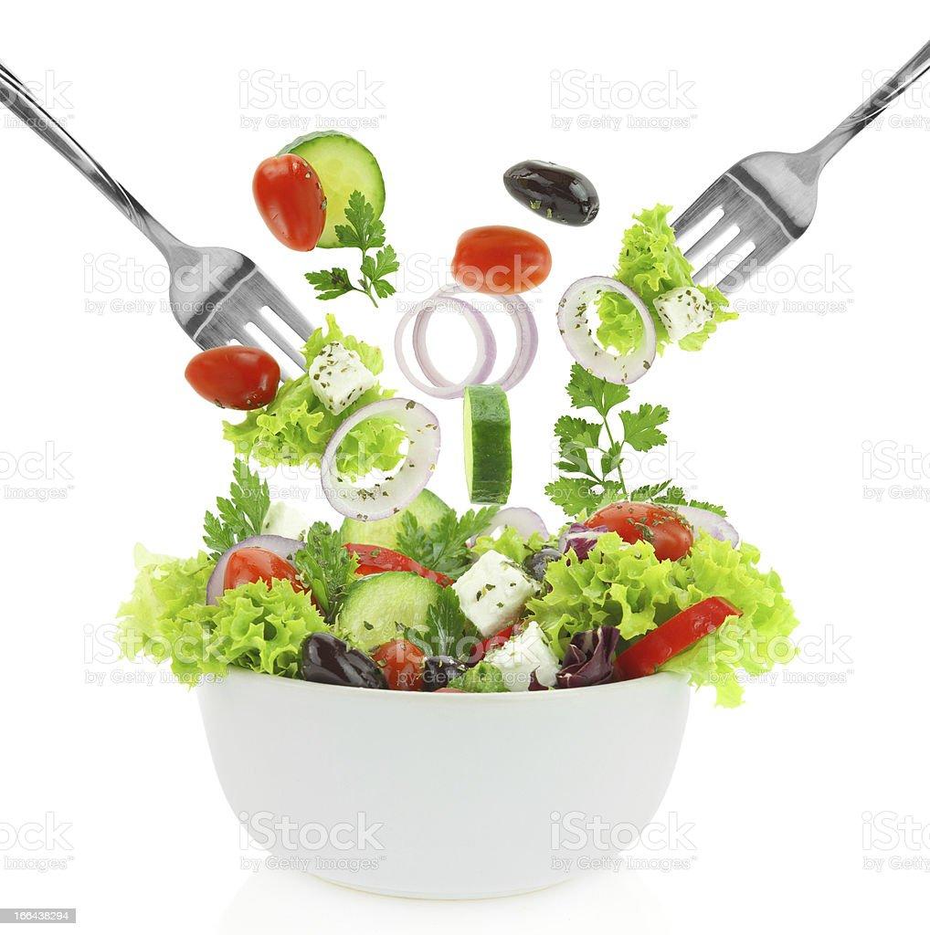 Fresh mixed vegetables royalty-free stock photo