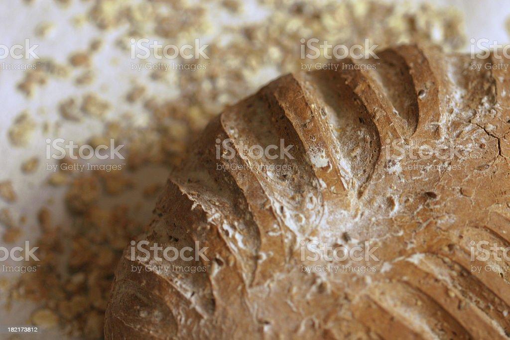 Fresh multi grain bread royalty-free stock photo