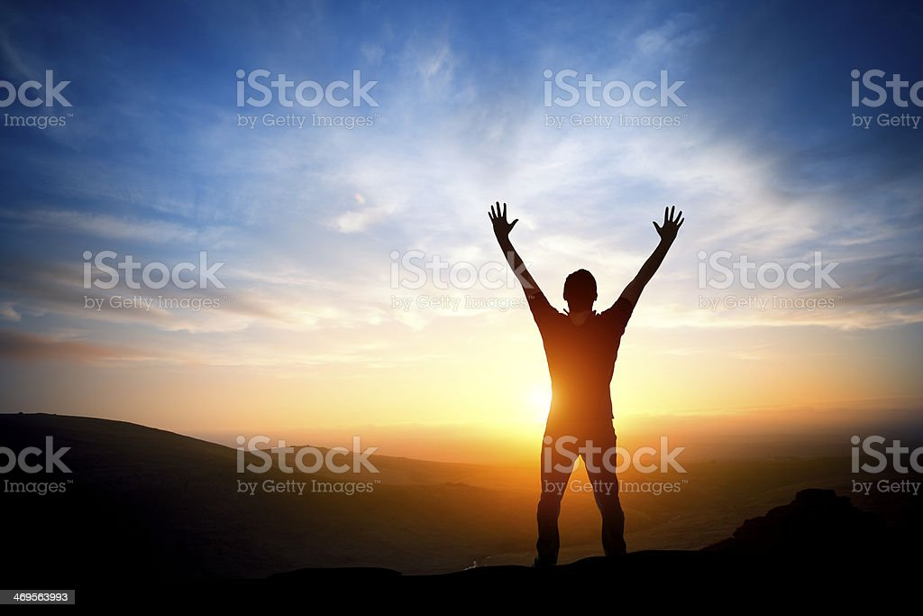 Fresh New Morning stock photo