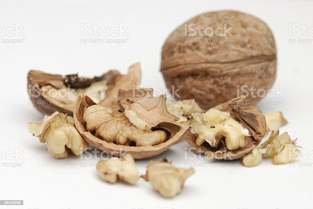 fresh nuts royalty-free stock photo
