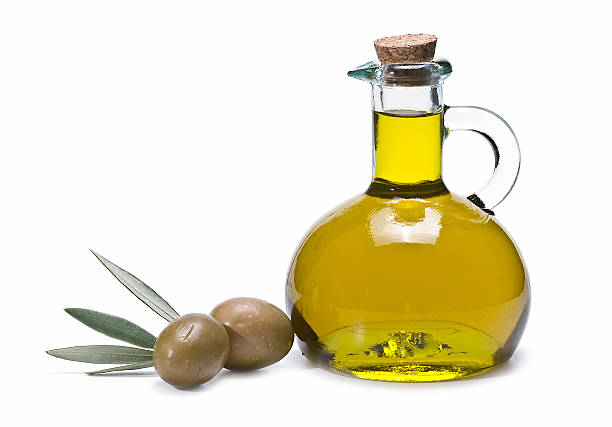Fresca aceite de oliva. - foto de stock