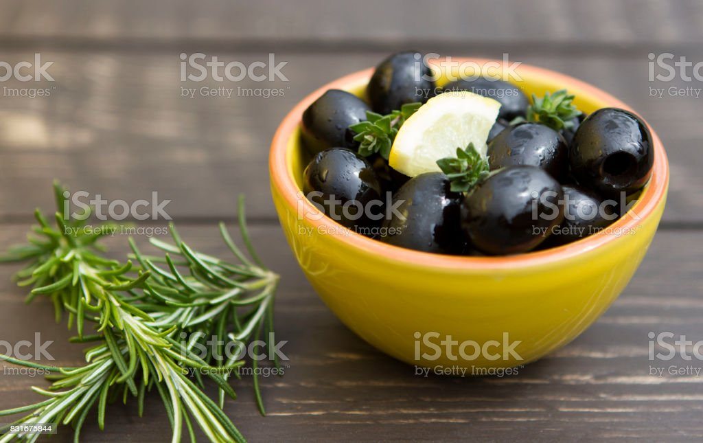 Fresh olives stock photo