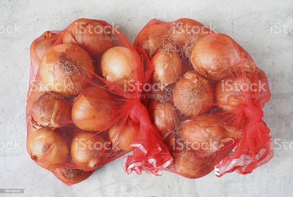 fresh onions royalty-free stock photo