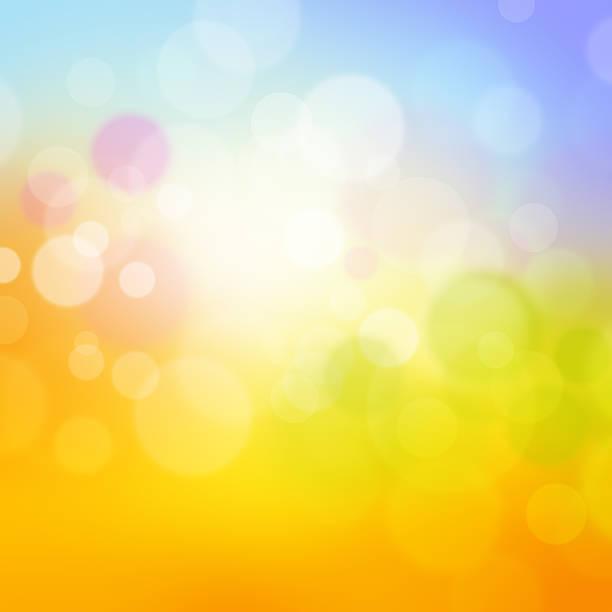 Fresh Optimistic Background stock photo