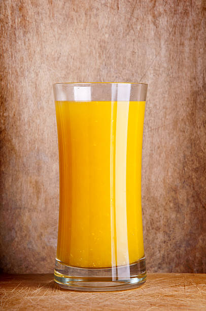 Frische orange Orangensaft – Foto