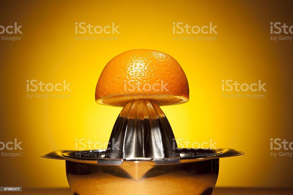 Fresh Orange juice royalty-free stock photo