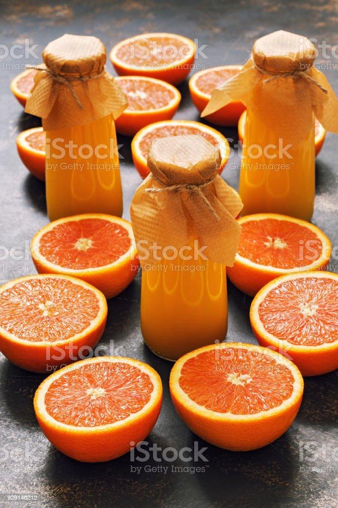 Orangensaft für die Ernährung