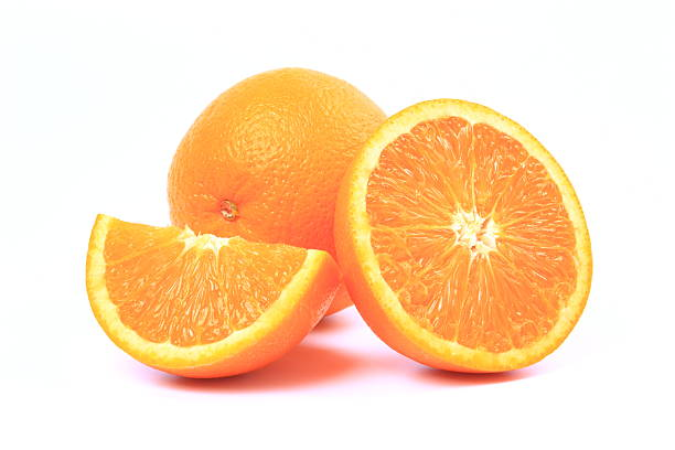 Fresh orange stock photo