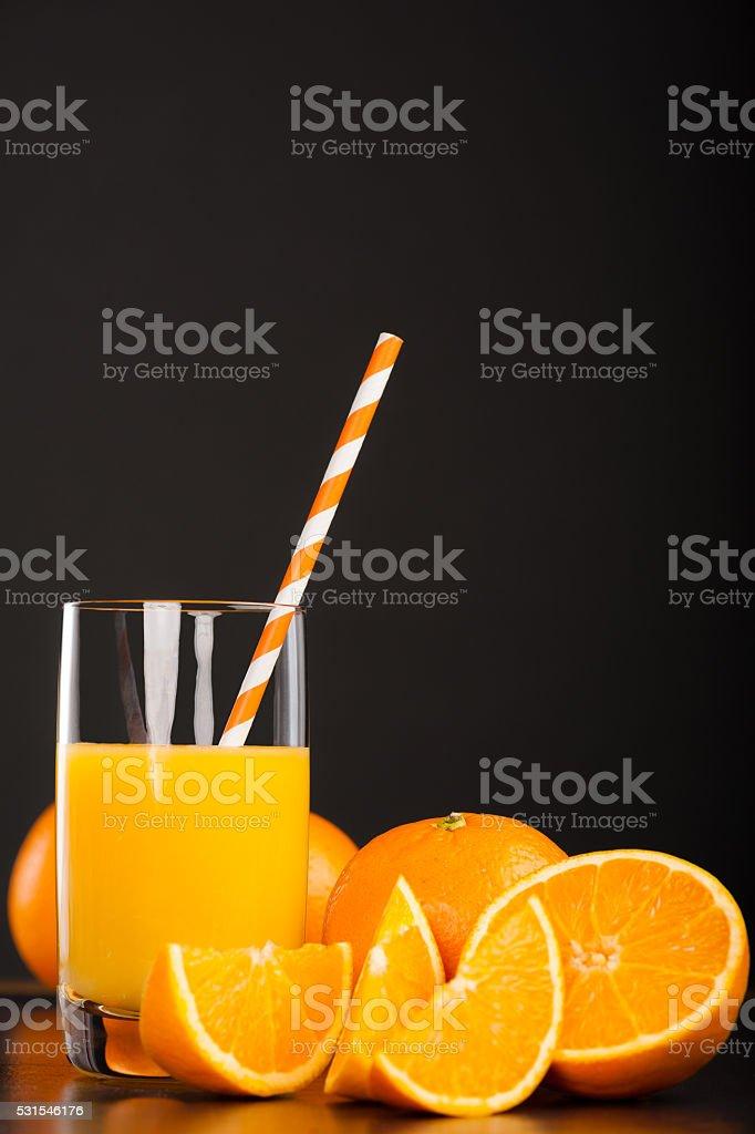 Fresh Orangejuice stock photo