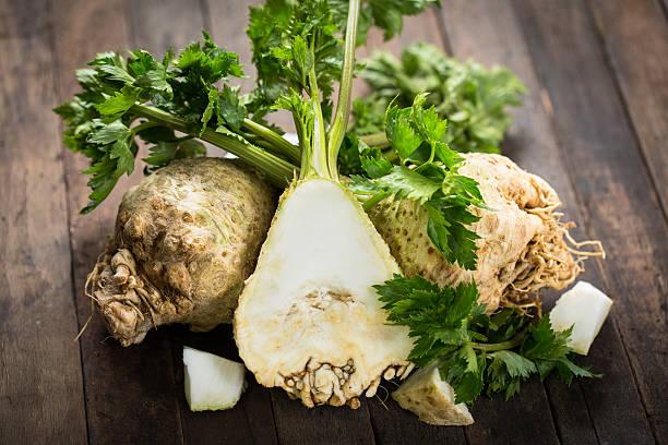 Fresh organic celery stock photo