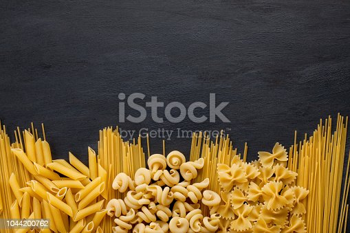 Fresh organic ingredients of italian recipes. Healthy food concept
