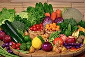 istock Fresh organic vegetables for healthy 508704886