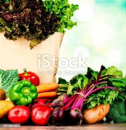 istock Fresh Organic Vegetables 181084963