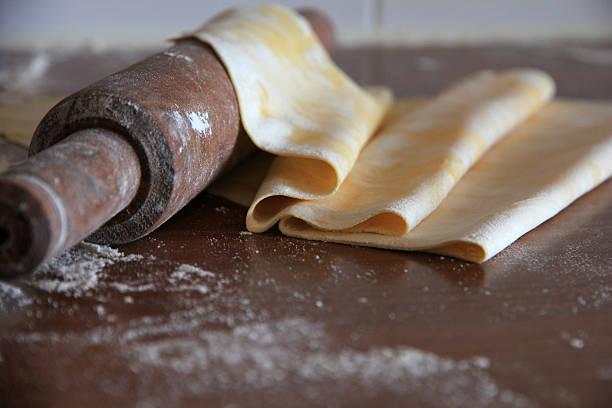 pasta fresca. - foto de stock