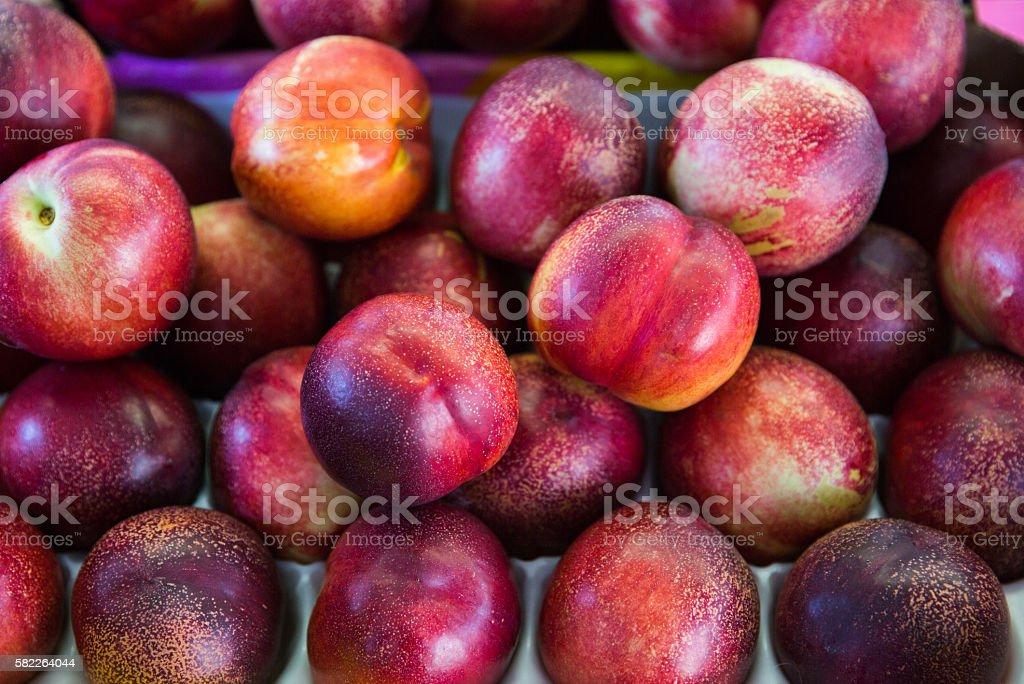 fresh peach royalty-free stock photo