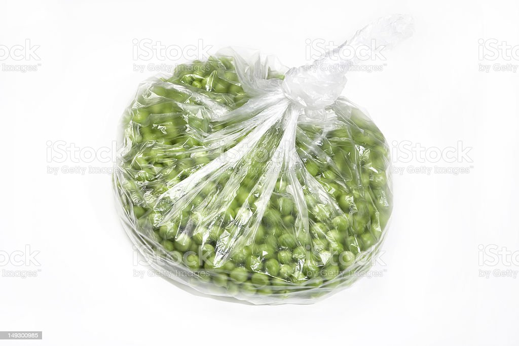 fresh peas stock photo