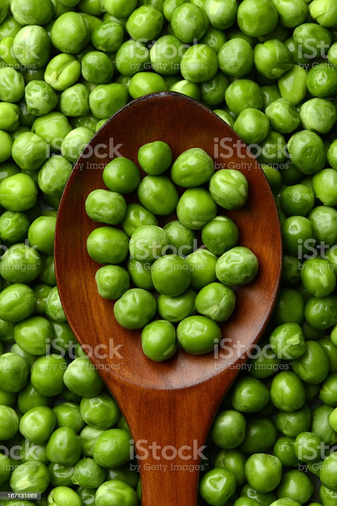 Fresh peas royalty-free stock photo