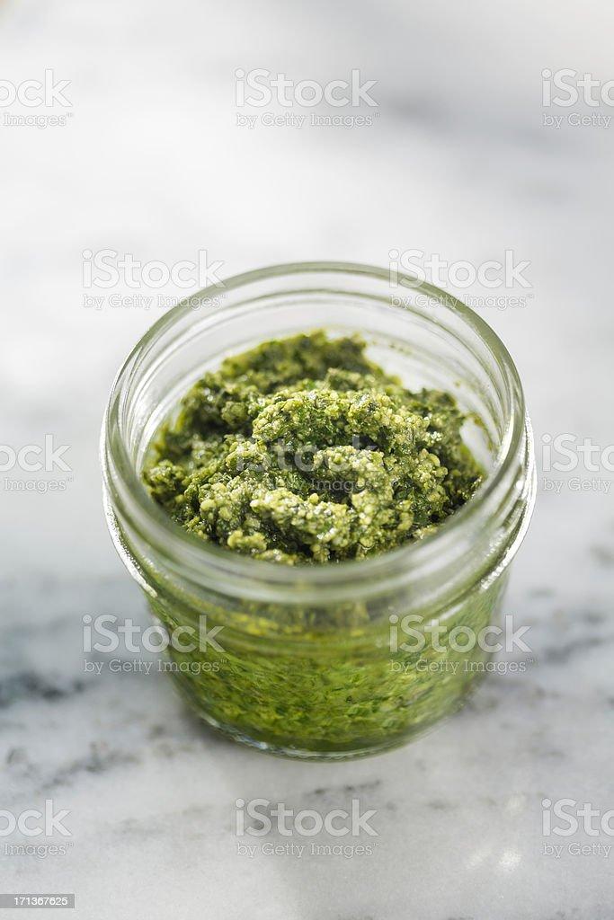 Fresh Pesto royalty-free stock photo