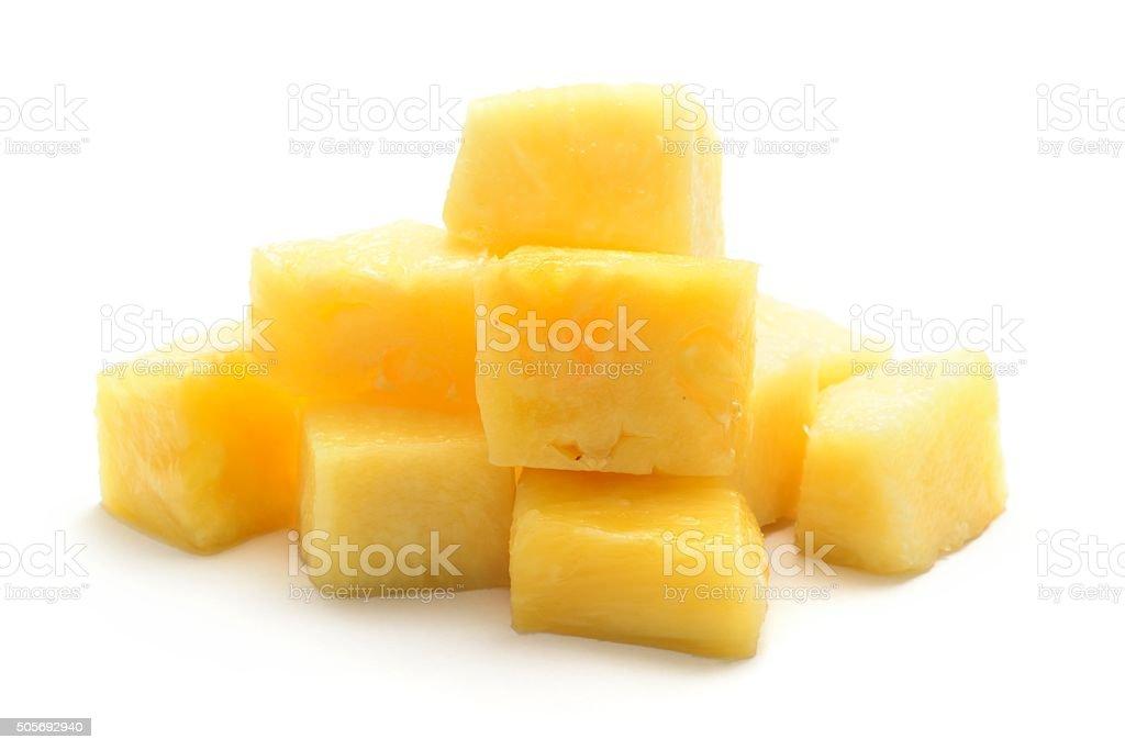 Morceaux à l'ananas frais - Photo