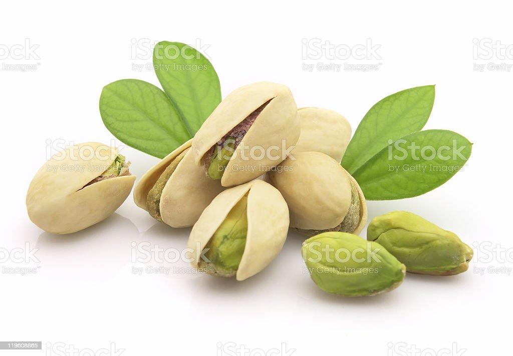 Fresh pistachio royalty-free stock photo
