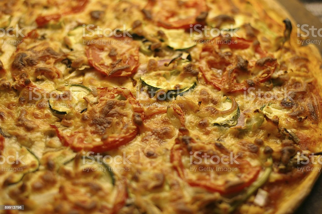 Fresh Pizza royalty free stockfoto