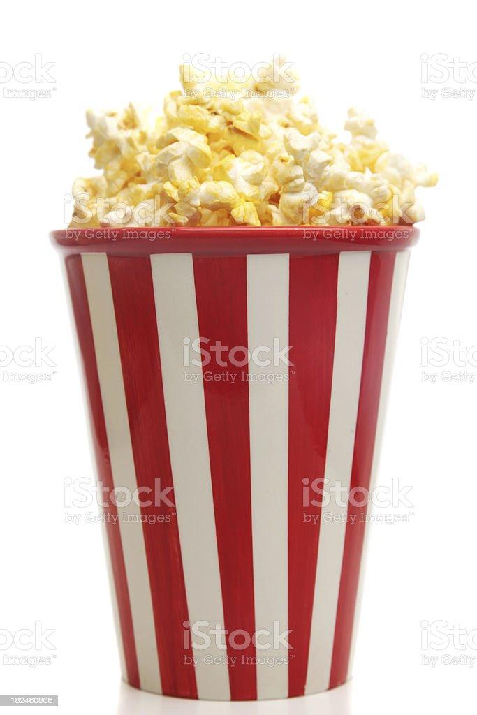 Las palomitas de maíz foto de stock libre de derechos