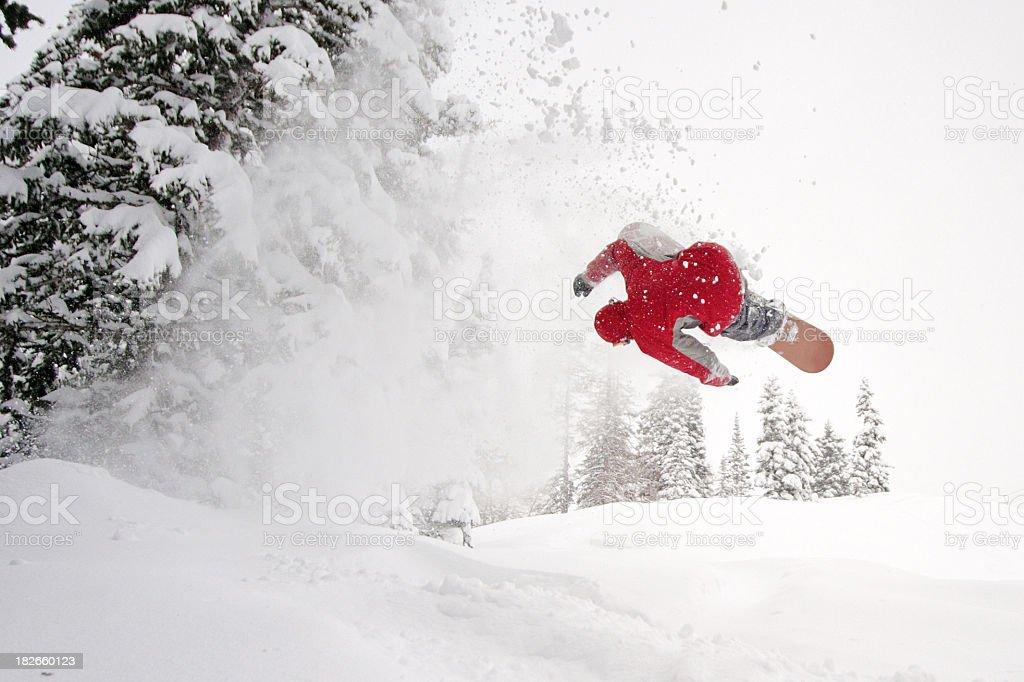 Fresh Powder royalty-free stock photo
