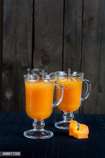Fresh Pumpkin Juice Stock Photo & More Pictures of Berry Fruit