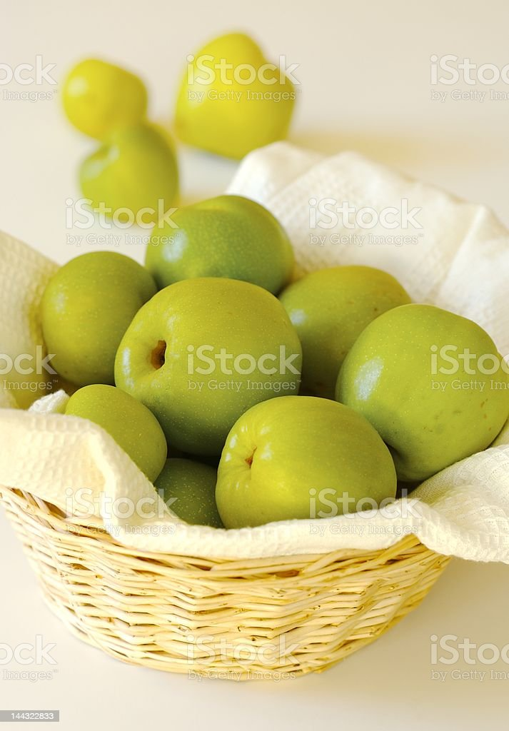 Fresh quinces royalty-free stock photo