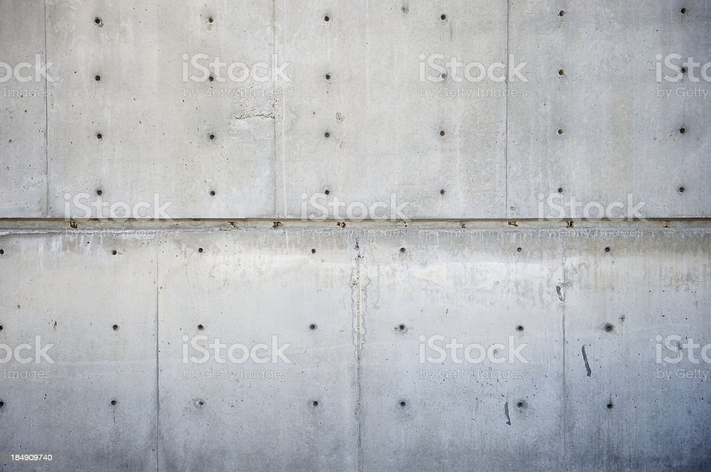 Fresh Raw Concrete Wall Full Frame Close-Up royalty-free stock photo