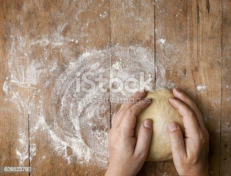 istock fresh raw dough 626523792