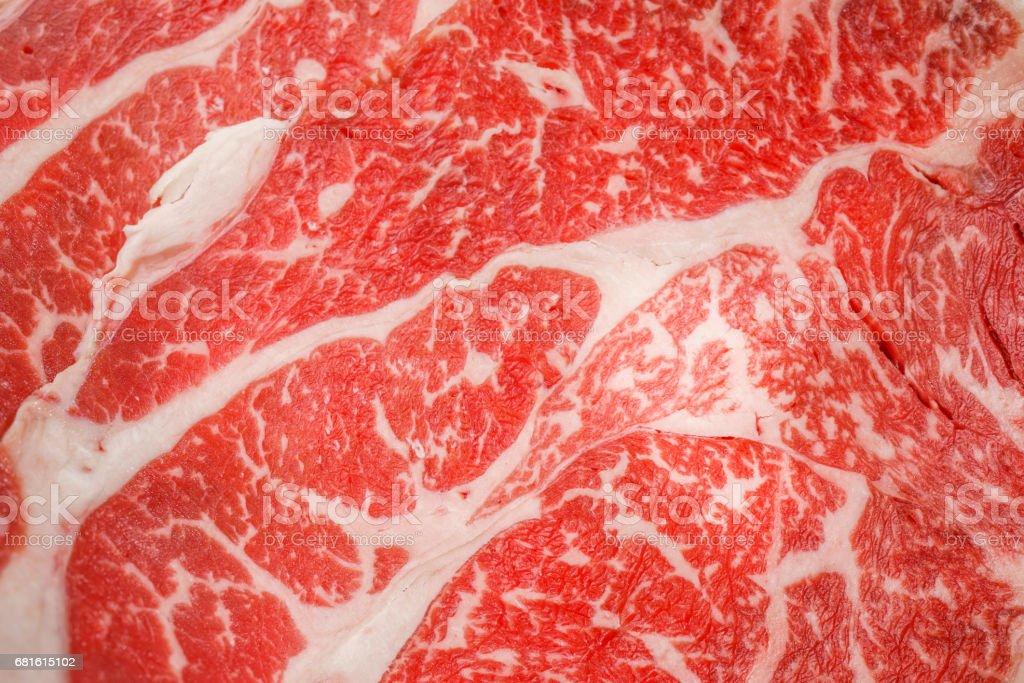 新鮮な生肉の背景 ストックフォト