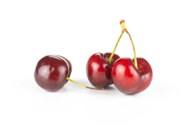 Fresh raw sweet red cherry isolated on white picture id996489984?b=1&k=6&m=996489984&s=612x612&w=0&h=ypbp1xwju12nwfwsd24a0upumcashq4xtgfbyrtbjg4=